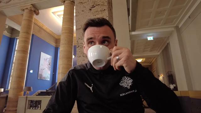 Arnar Viðars í kaffispjalli: Við eigum alltaf séns