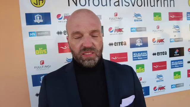Arnar Gunnlaugs: Þetta er töff en svona er íslenskur fótbolti í maí