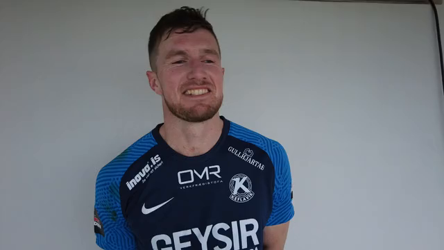 Joey Gibbs: Gaman að fá það verðlaunað að pressa