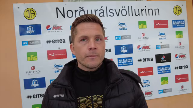 Jói Kalli: Virkilega vel varið hjá Halla
