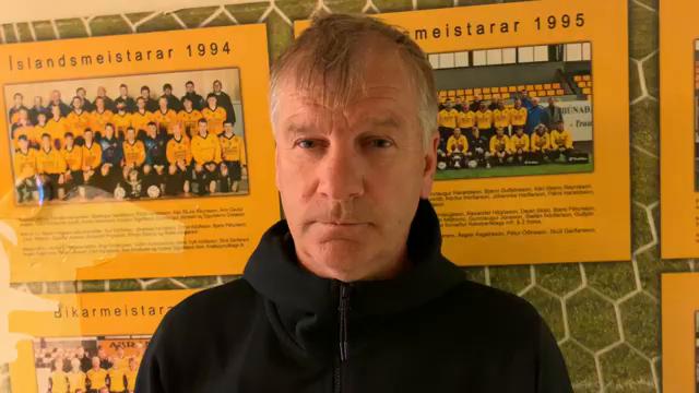 Óli Jó: Erum með okkar markmið og vinnum eftir því