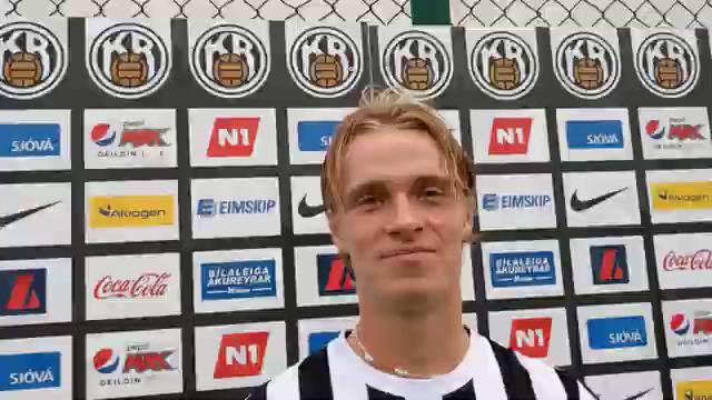 Stefán Árni: Ég er þakklátur og glaður