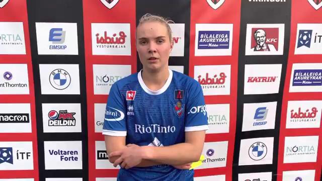 Hildur Karítas: Virtist vera eins og við vildum ekki vera með í leiknum