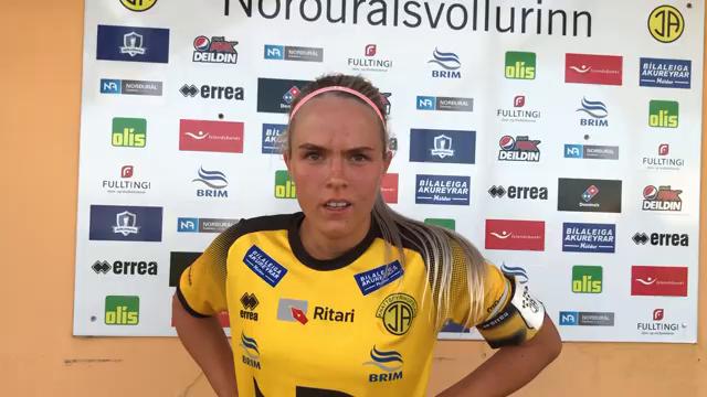 Bryndís Rún: Svekkjandi að ná ekki að klára þetta