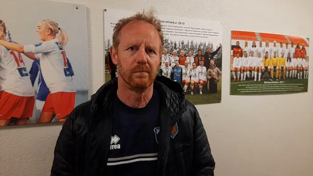 Jón Sveins: Héldum haus og kláruðum leikinn