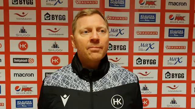 Brynjar Björn: Fáum líklega ekki betra færi