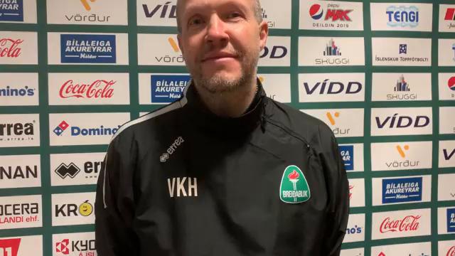Villi Haralds: Deildin er jöfn þó fjölmiðlamenn hafi ekki trú á því